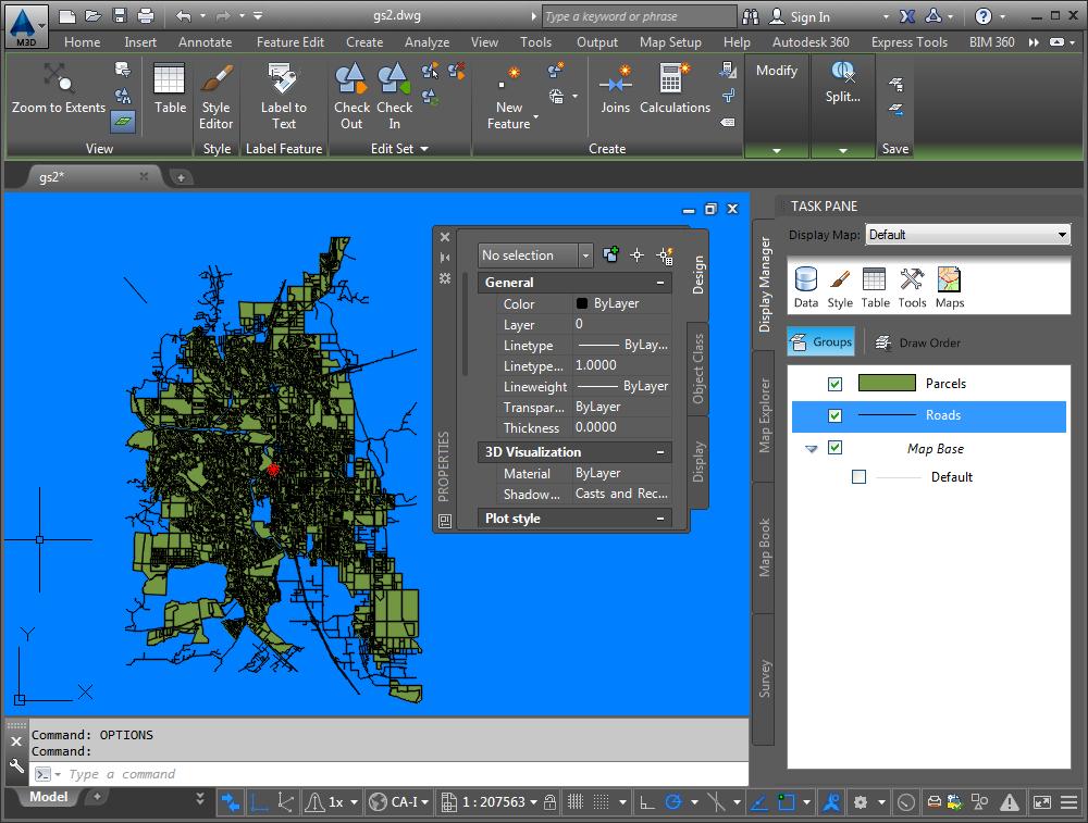 AutoCAD Map 3D latest version