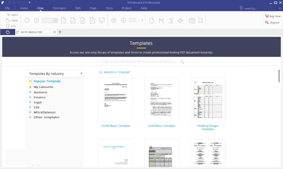 Wondershare PDFelement Pro windows