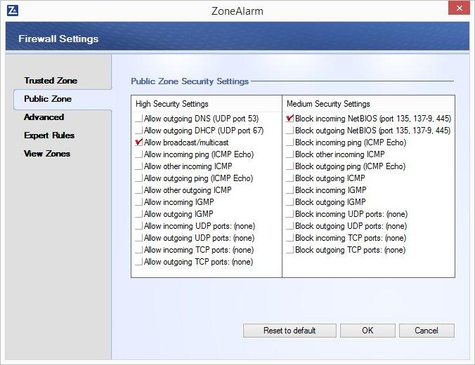 ZoneAlarm Pro Firewall latest version