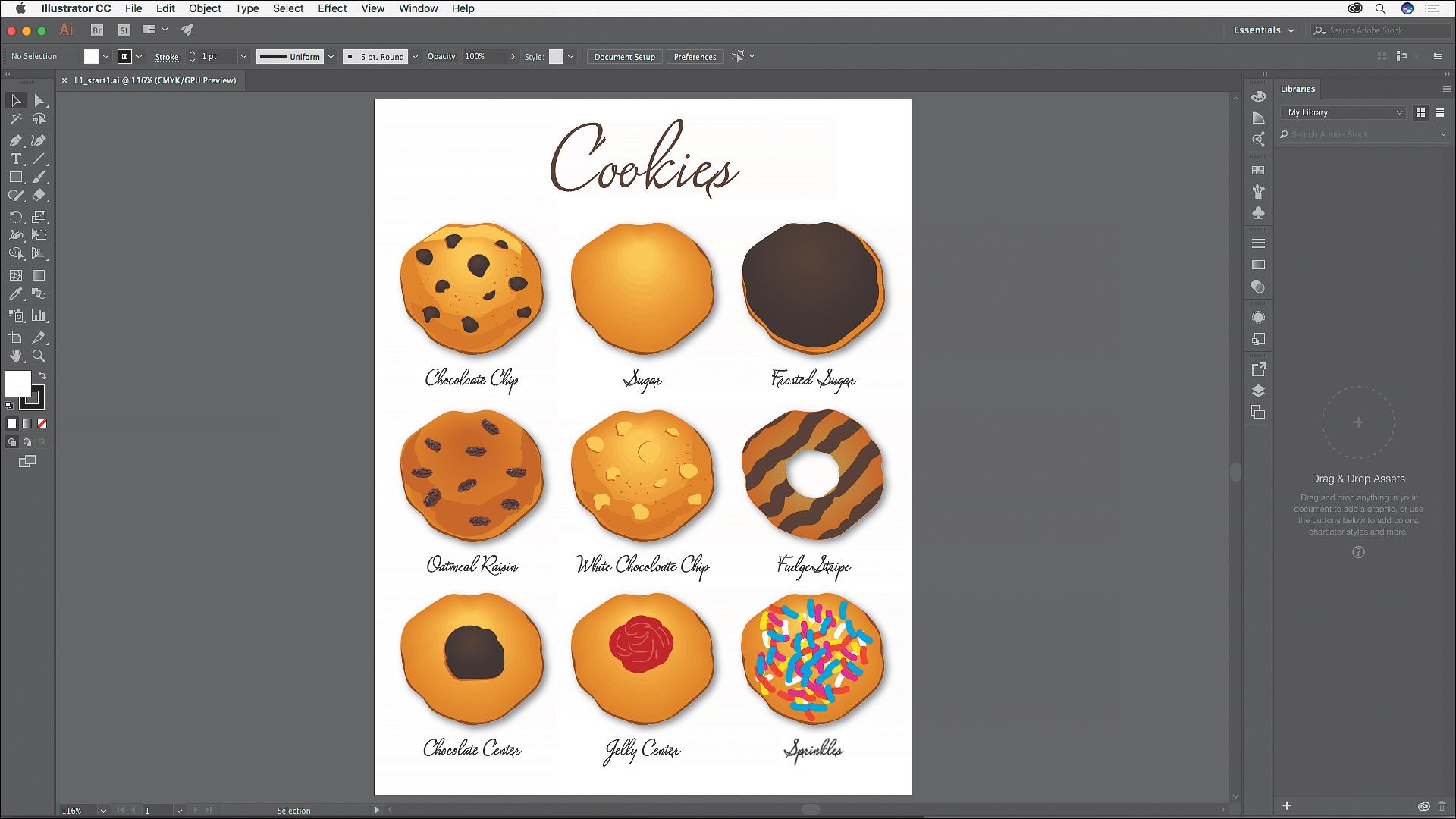Adobe Illustrator CC windows