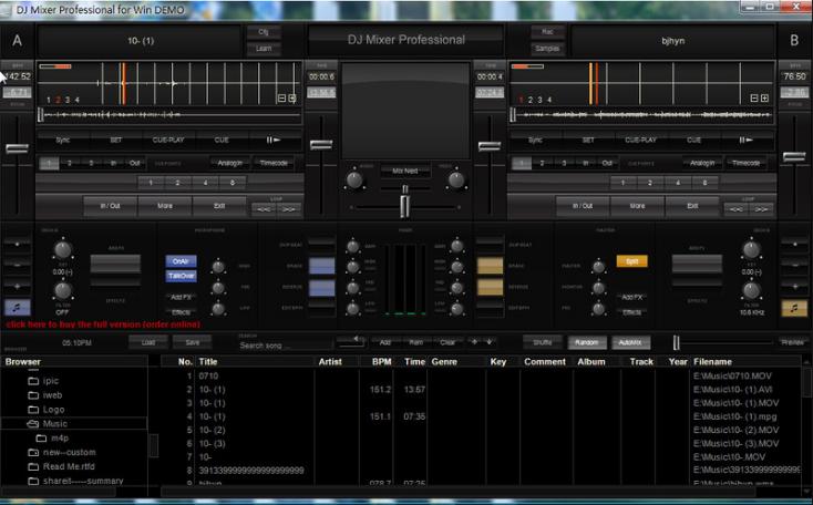 DJ Mixer Pro windows