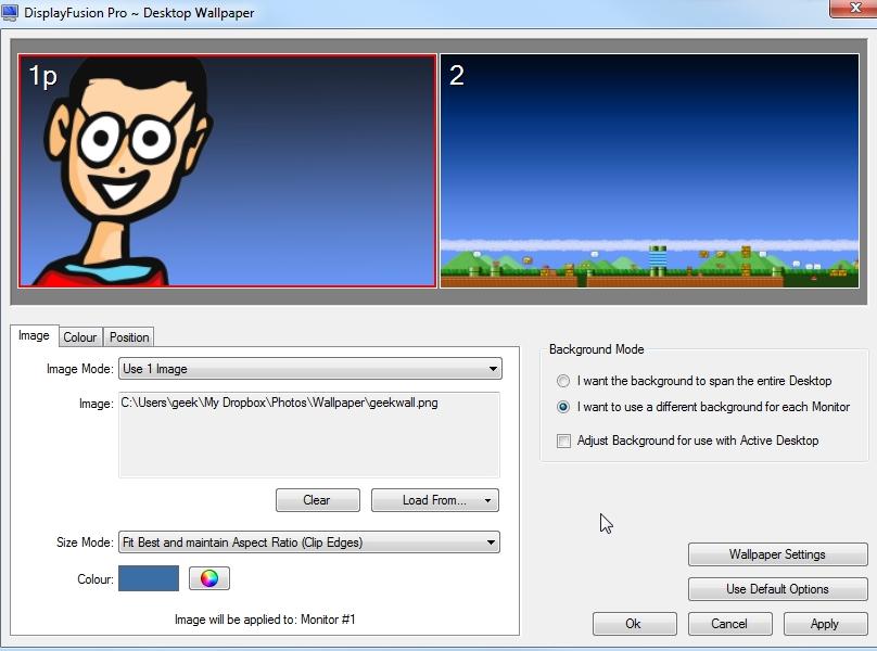 DisplayFusion Pro wndows