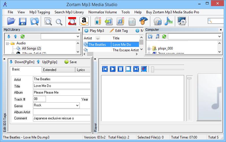 Zortam Mp3 Media Studio Pro latest version