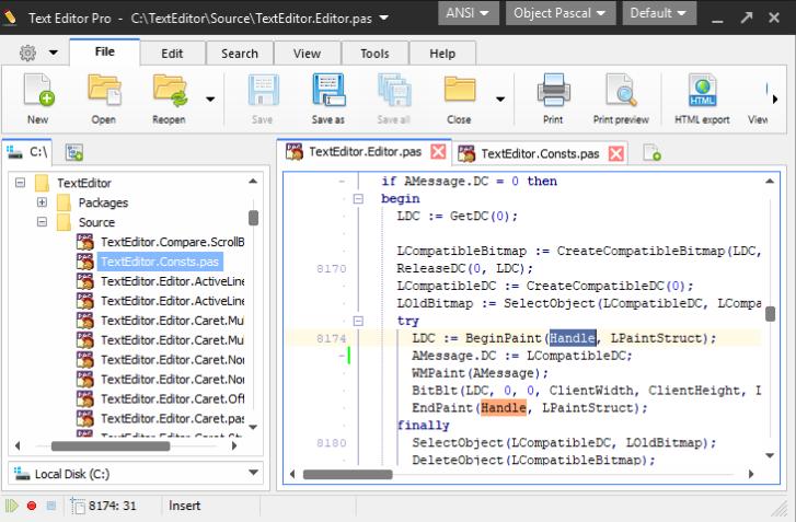 Text Editor Pro windows