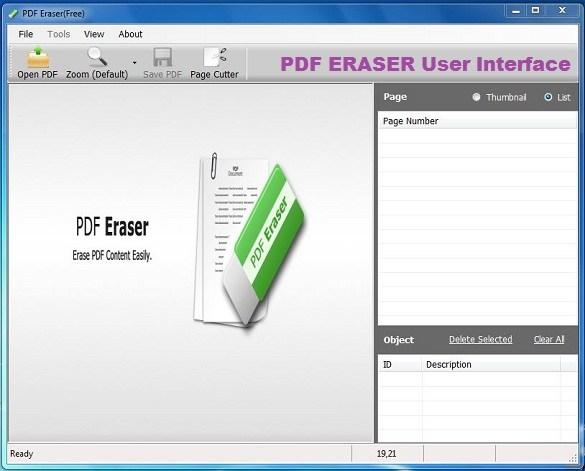 PDF Eraser latest version