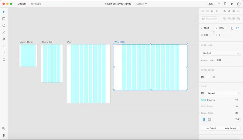 Adobe XD CC windows