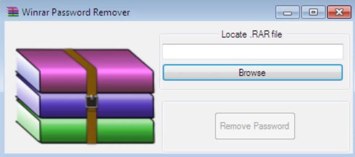 WinRAR Password Remover windows
