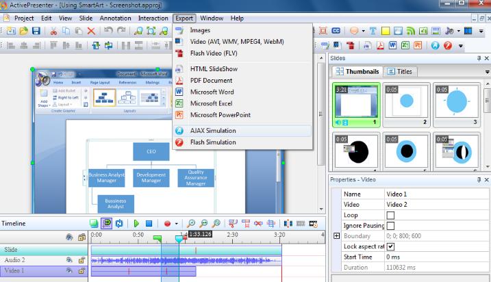 ActivePresenter Pro windows