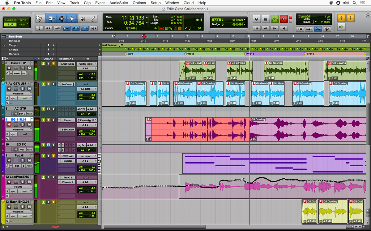 Avid Pro Tools latest version