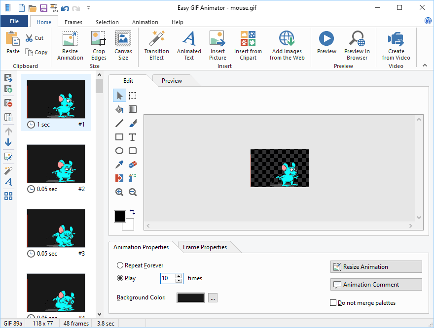 Easy GIF Animator Pro windows