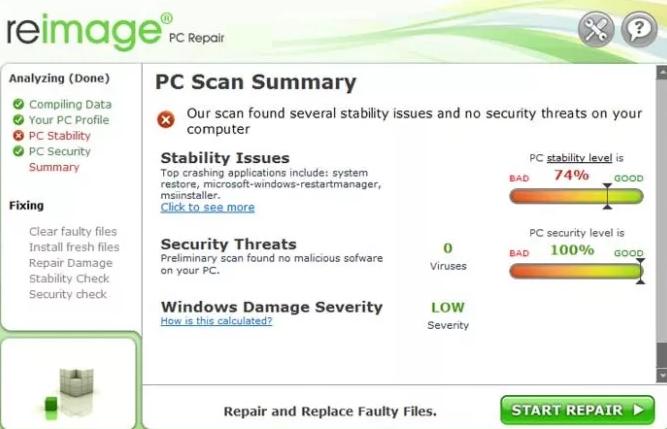 Reimage Pc Repair latest version