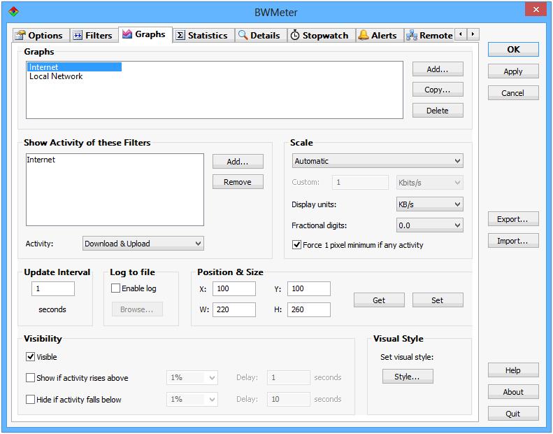 BWMeter PRO windows