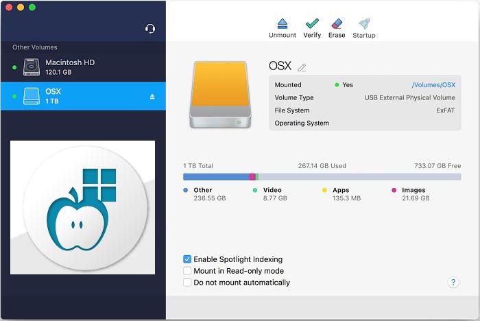 Paragon NTFS windows
