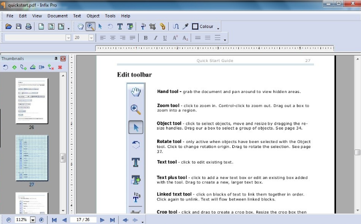 Infix PDF Editor Pro latest version