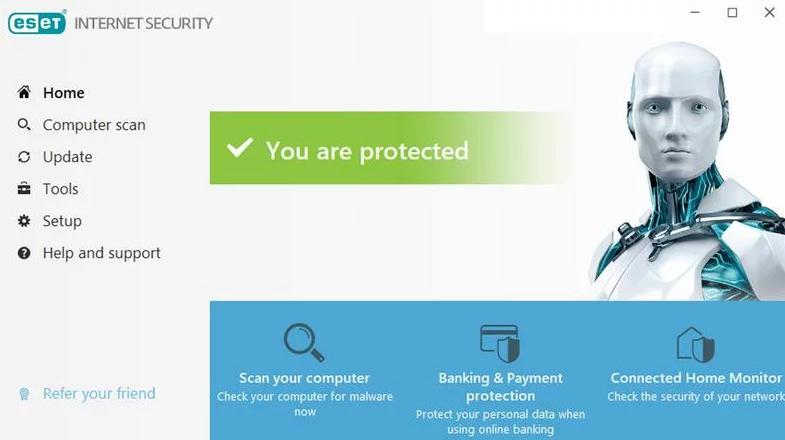 SET Internet Security windows