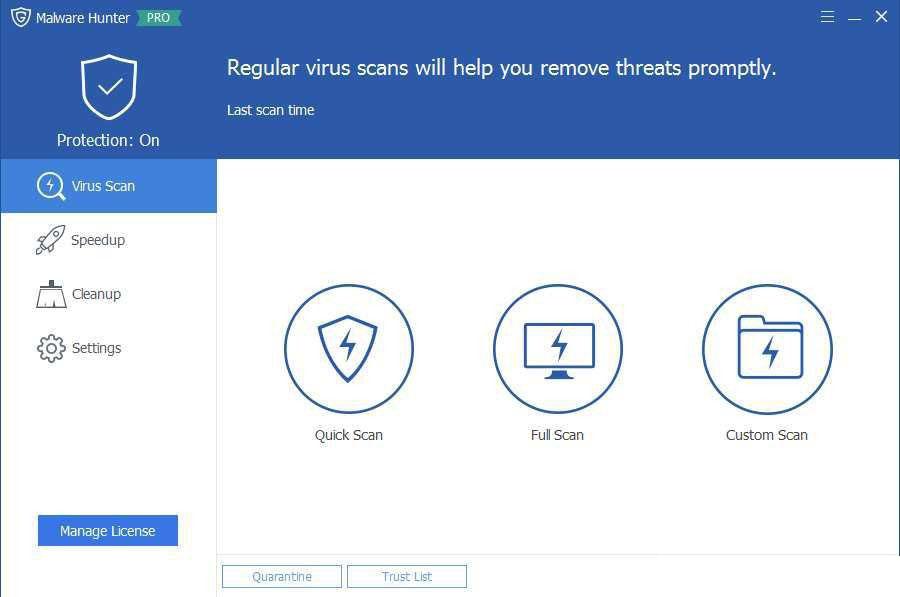 Glarysoft Malware Hunter Pro windows