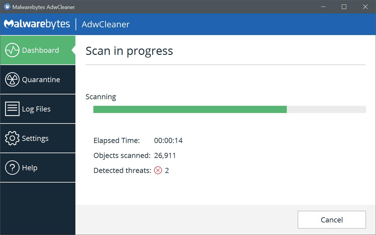Malwarebytes AdwCleaner latest version