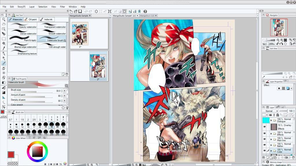 Clip Studio Paint EX windows