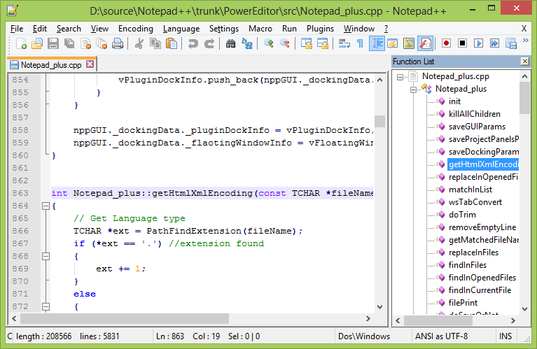 Notepad++ latest version