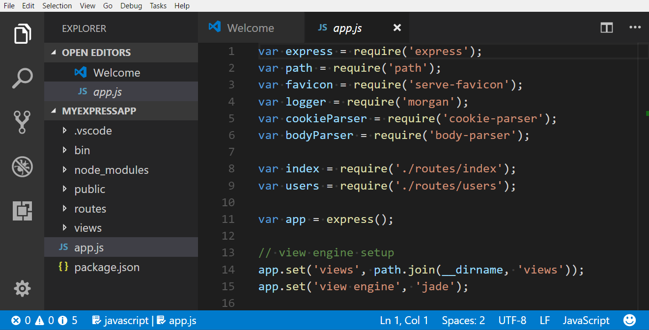 Visual Studio Code latest version