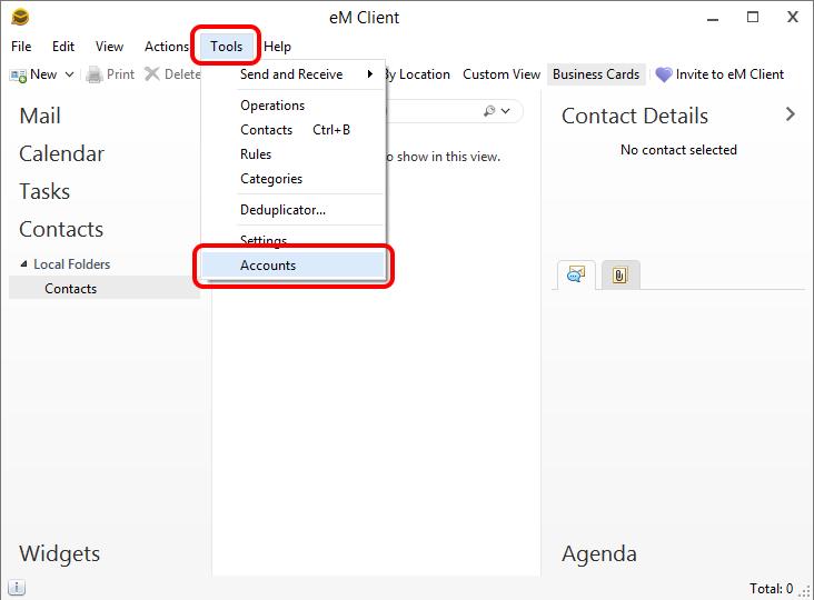 eM Client latest version