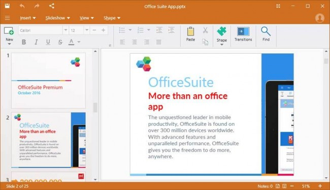 Office Suite Premium latest version