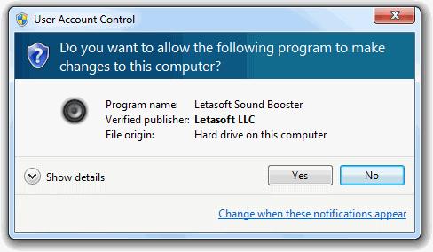 Letasoft Audio Booster windows