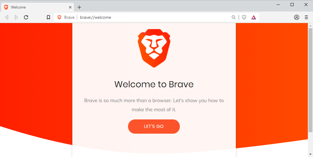 Brave Browser windows
