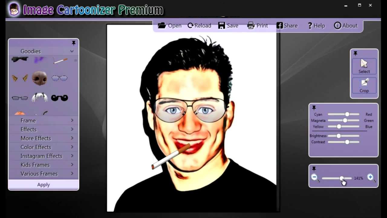 Image Cartoonizer Premium windows