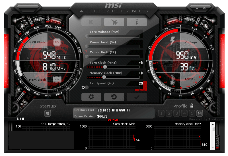 MSI Afterburner latest version