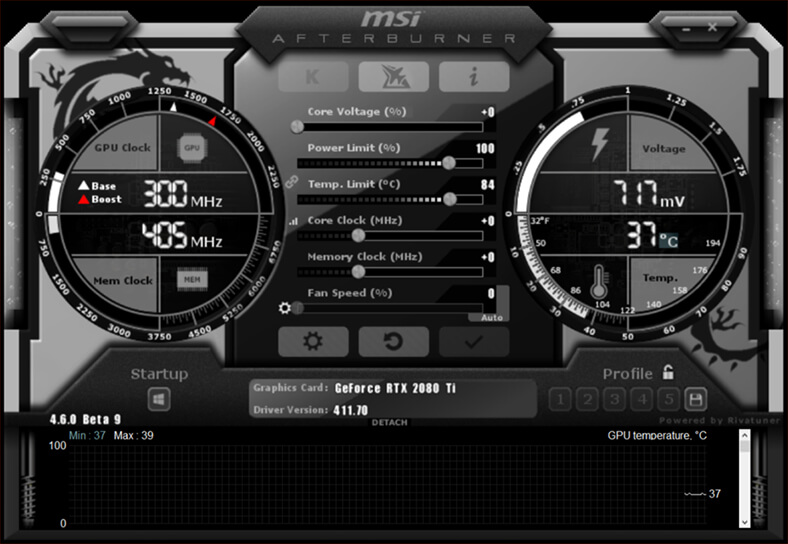 MSI Afterburner windows