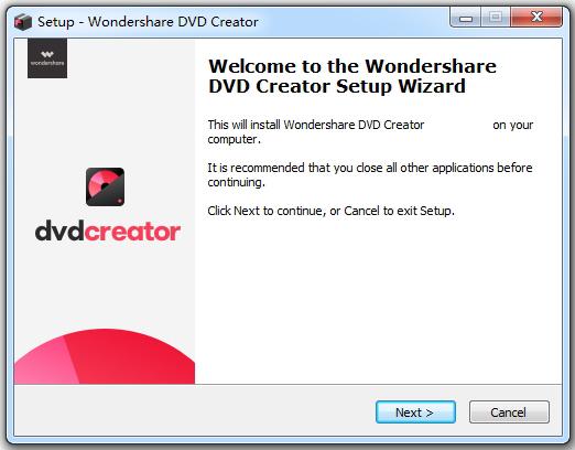 Wondershare DVD Creator latest version