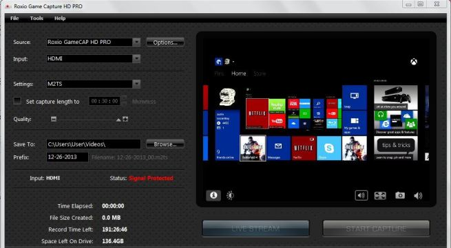 Game Capture HD windows