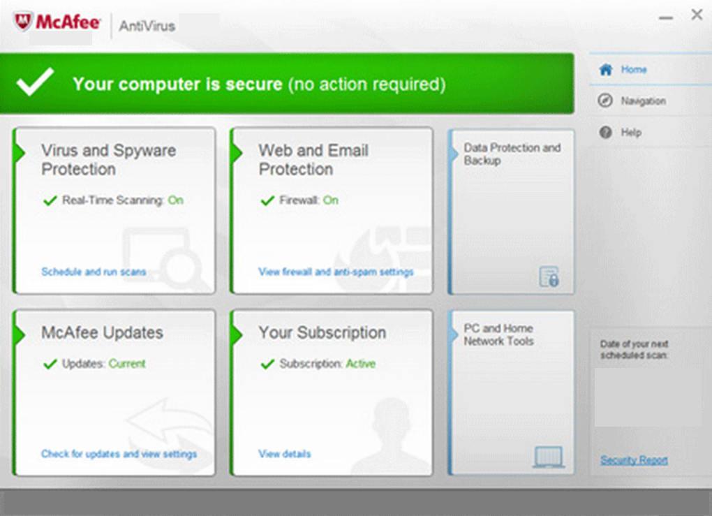 MacAfee Antivirus latest version