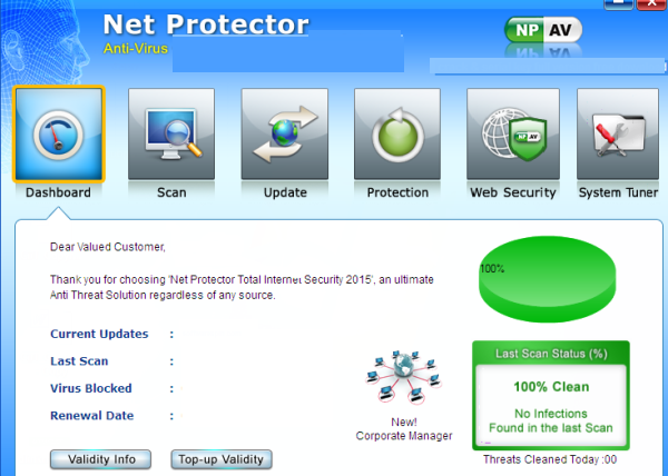 Net Protector Antivirus latest version
