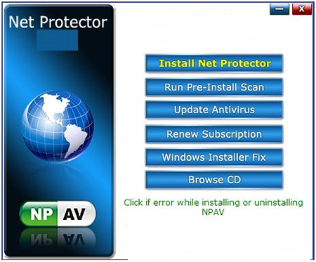 Net Protector Antivirus windows