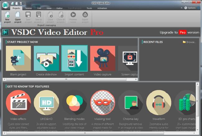 VSDC Video Editor Pro windows