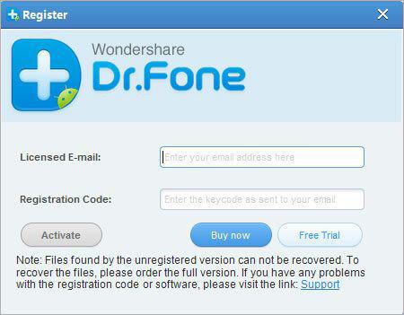 Wondershare Dr.Fone windows