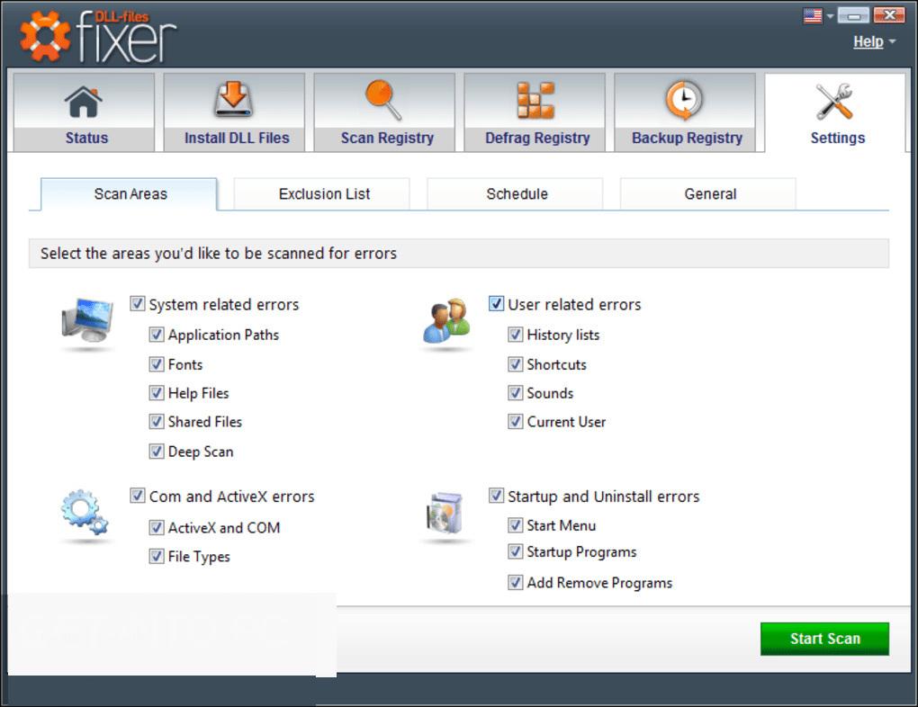 DLL Files Fixer latest version