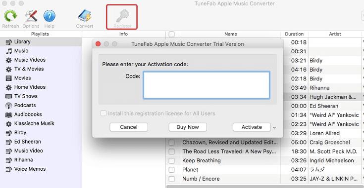TuneFab Apple Music Converter windows