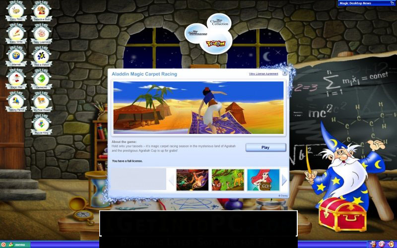 EasyBits Magic Desktop windows