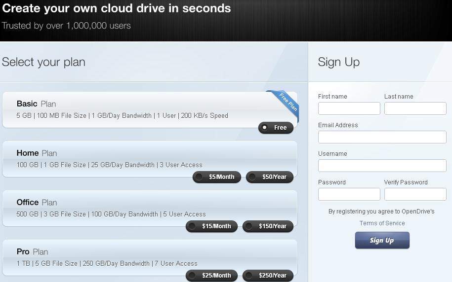 OpenDrive windows