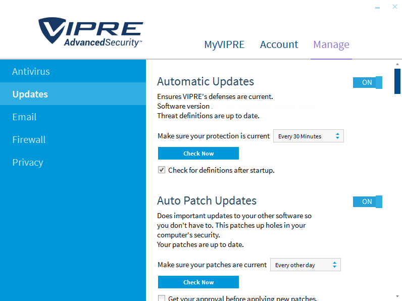 VIPRE Advanced Security latest version