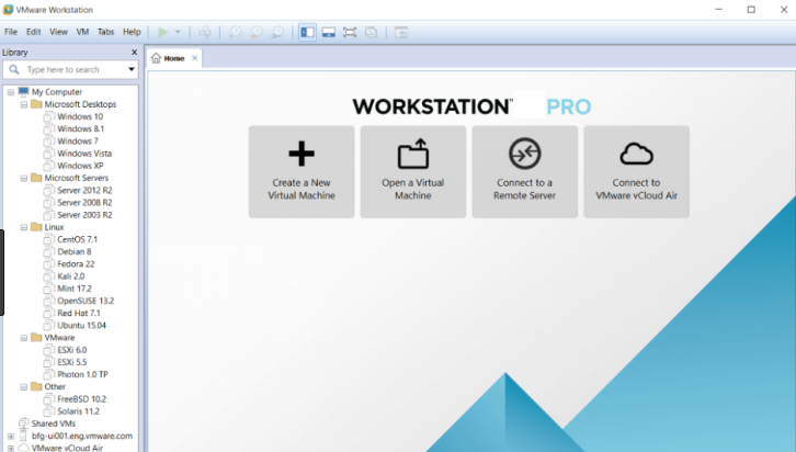 VMware Workstation latest version