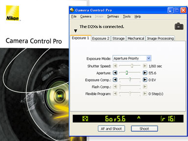 Nikon Camera Control Pro windows