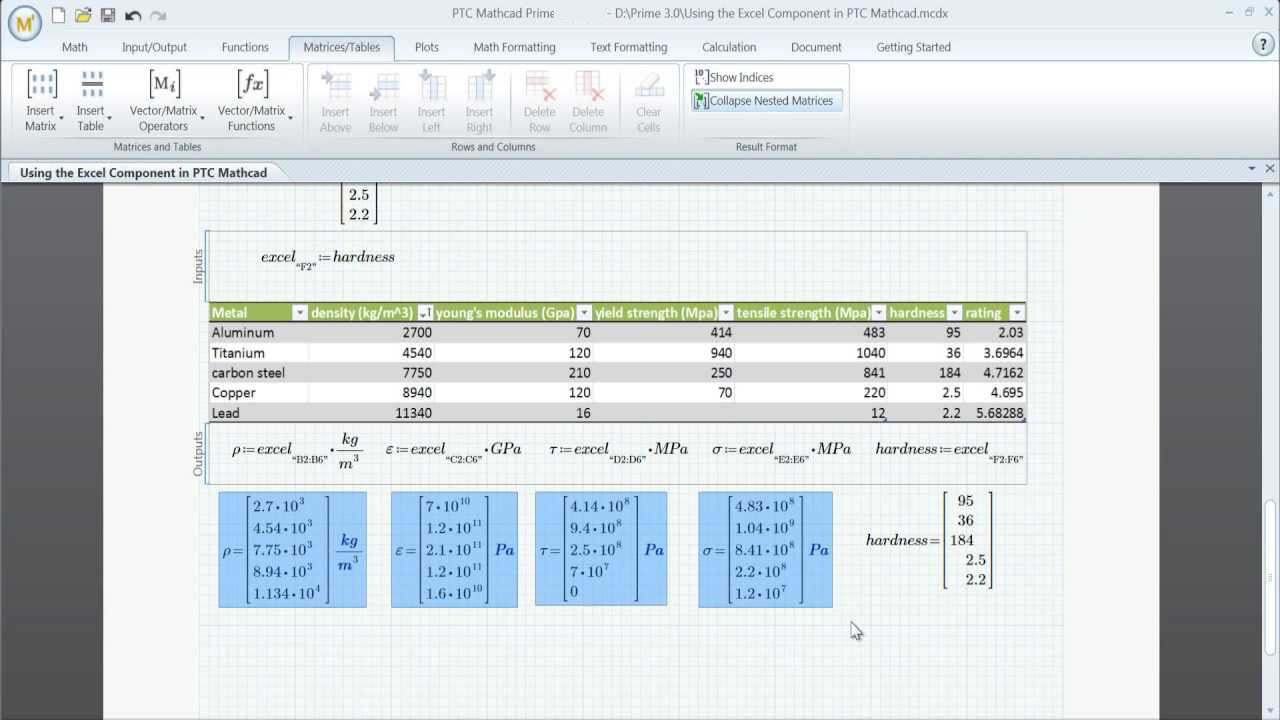 PTC Mathcad latest version